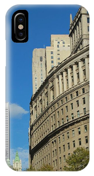 Battery D iPhone Case - Architecture In New York City by Dan Sproul