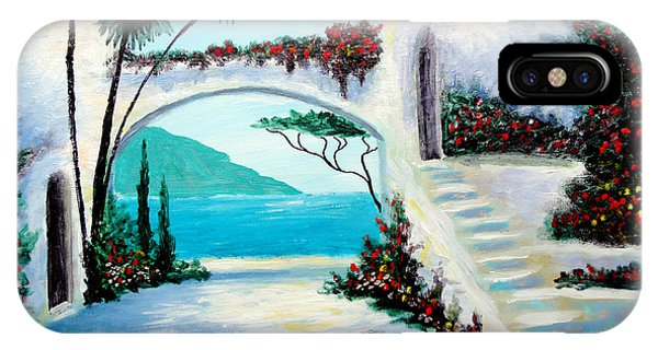 Archway  By The Sea IPhone Case