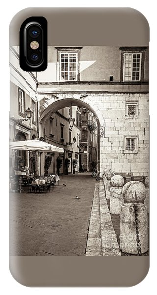 Archway Over Street IPhone Case