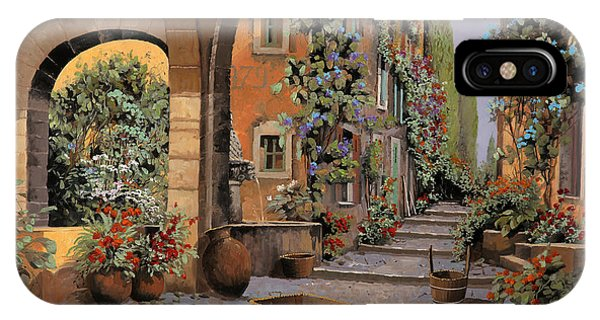 Arched iPhone Case - Arco E Arcata by Guido Borelli