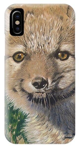 Sold Arctic Fox IPhone Case