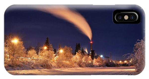 Arctic Power At Night IPhone Case