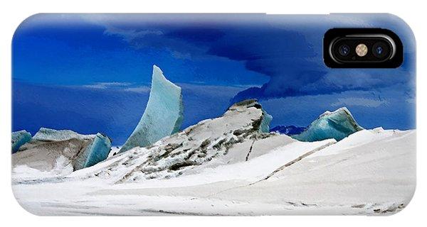 Arctic Pressure Ridge IPhone Case