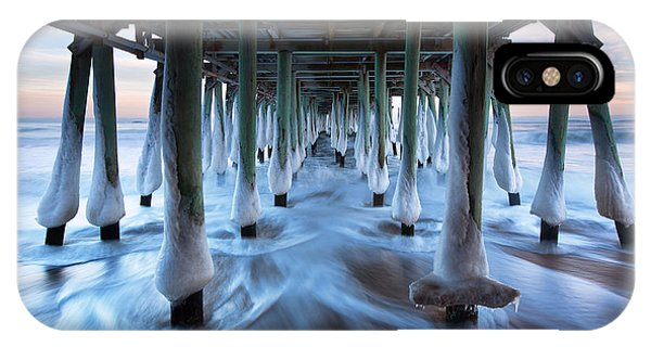 Orchard Beach iPhone Case - Arctic Rush by Eric Gendron