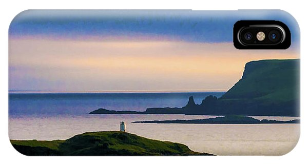 Ardtreck Point Lighthouse IPhone Case