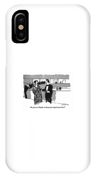 Are You In A Miyake Or Did You Just Sleep IPhone Case