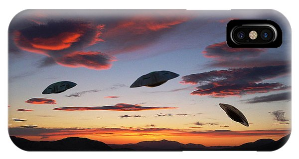 Area 51 Fly Zone IPhone Case