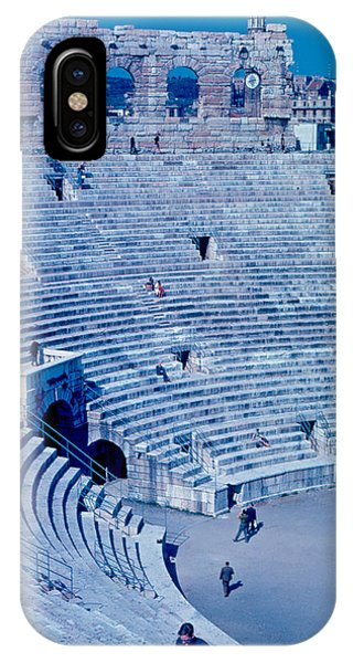 Arena Verona Interior 1962 Phone Case by Cumberland Warden