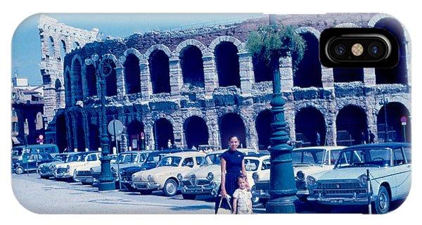 Arena Verona Italy 1962 Phone Case by Cumberland Warden