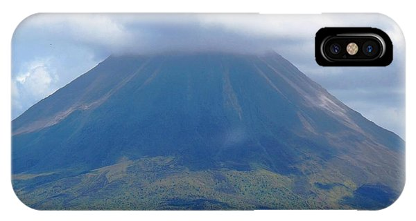 Arenal Volcano IPhone Case