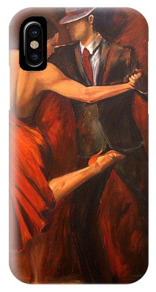Tango iPhone Case - Argentine Tango by Sheri  Chakamian