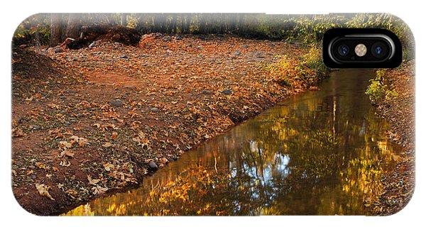 Arizona Autumn Reflections IPhone Case