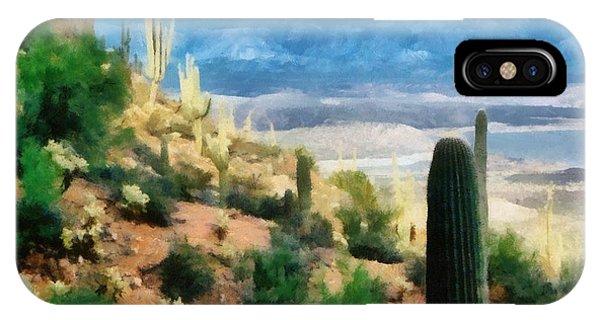 Arizona Desert Heights IPhone Case
