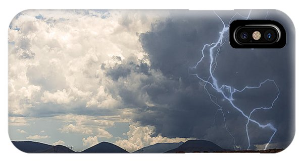 Arizona Desert Lightning  IPhone Case