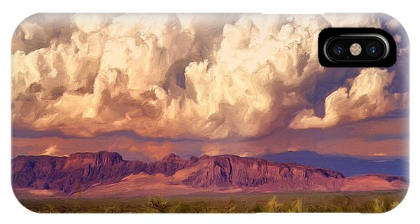 Arizona Monsoon IPhone Case