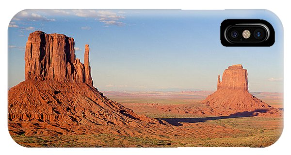 No People iPhone Case - Arizona Monument Valley by Anonymous