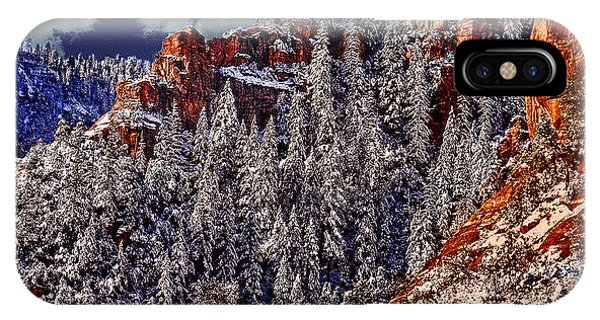 Arizona Secret Mountain Wilderness In Winter IPhone Case