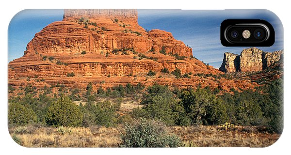 No People iPhone Case - Arizona Sedona Bell Rock  by Anonymous