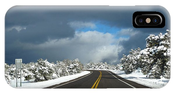 Arizona Snow 1 IPhone Case
