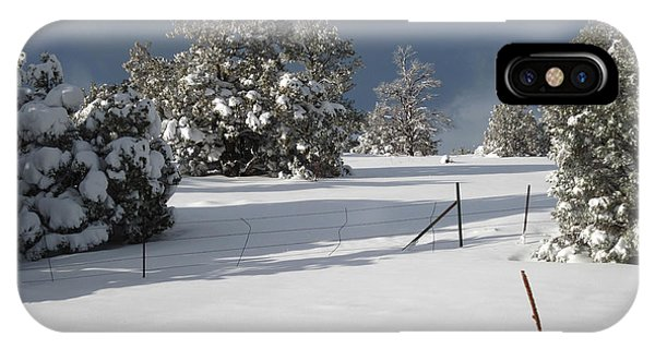 Arizona Snow 3 IPhone Case