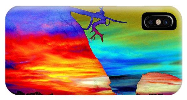 Arizona Sunset Collage IPhone Case