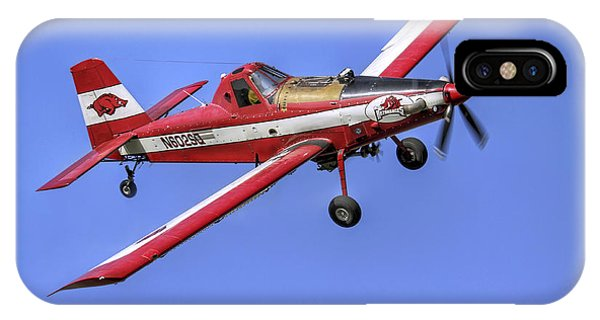 Arkansas Razorbacks Air Tractor IPhone Case