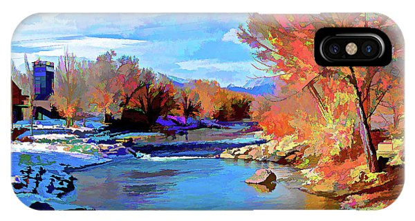 Arkansas River In Salida Co IPhone Case