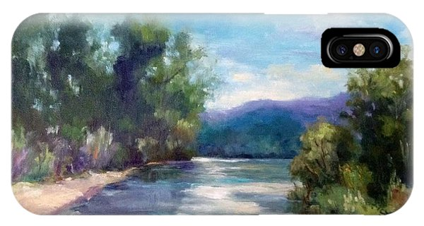 Arkansas River Views IPhone Case