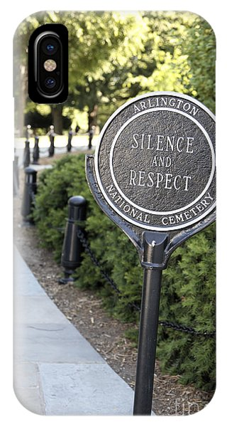 iPhone Case - Arlington National Cemetery Rule by William Kuta
