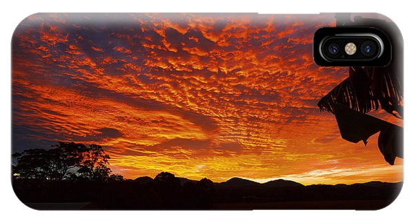 Armanisunset IPhone Case