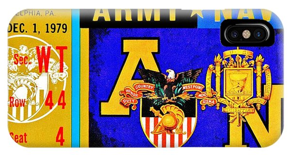 Naval Academy iPhone Case - Army Navy 1979 by Benjamin Yeager