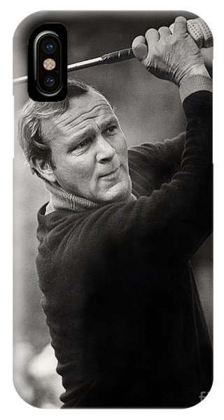 Monterey iPhone Case - Arnold Palmer Pro-am Golf Photo Pebble Beach Monterey Calif. Circa 1960 by California Views Archives Mr Pat Hathaway Archives