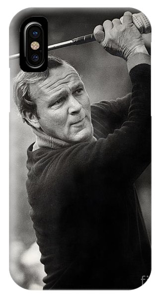 Arnold Palmer Pro-am Golf Photo Pebble Beach Monterey Calif. Circa 1960 IPhone Case