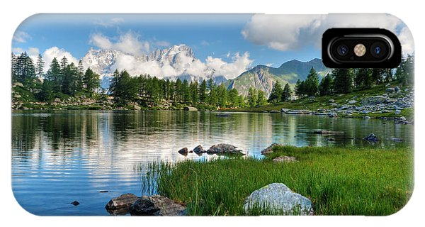 Arpy Lake - Aosta Valley IPhone Case