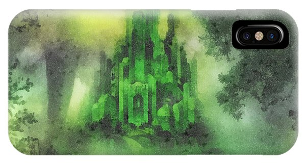 Arrival To Oz IPhone Case
