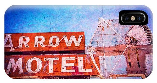 Arrow Motel IPhone Case