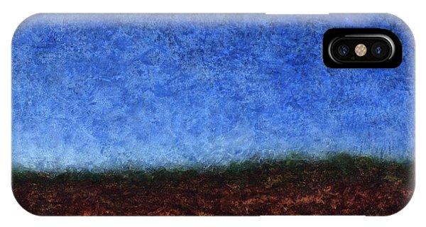 Creek iPhone Case - Arroyo Rojo by James W Johnson