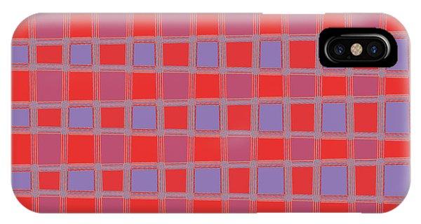 Art 1906 Elegant Graphic Pattern Squares Colorful Digitalart Graphicart Surface Texture Design Multi IPhone Case