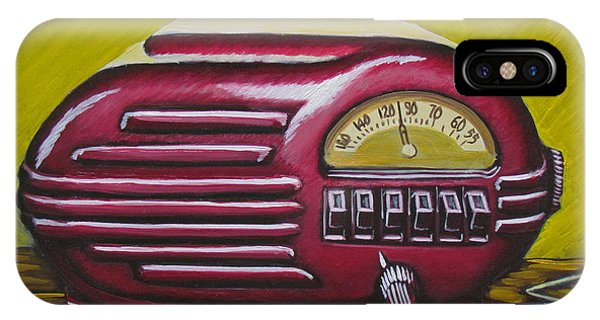 Art Deco Radio IPhone Case