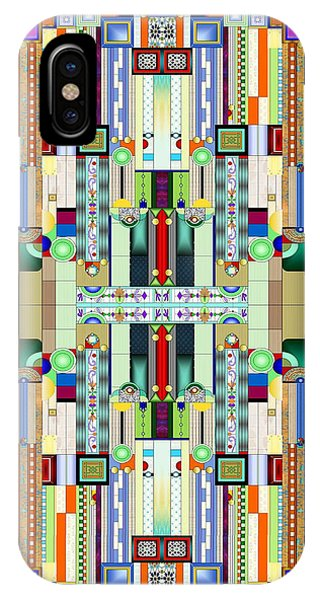 Art Deco Stained Glass 2 IPhone Case