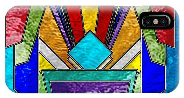 Art Deco - Stained Glass 6 IPhone Case