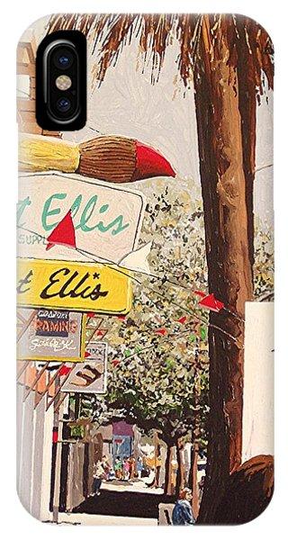 Art Ellis In Midtown Phone Case by Paul Guyer