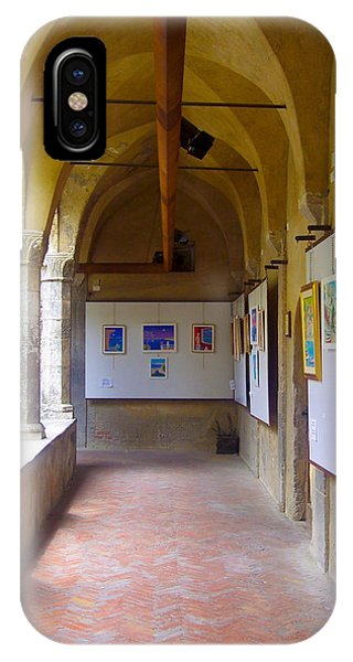 Art Gallery In A Monastery IPhone Case