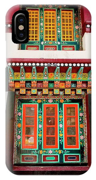 Art In Monastery Architecture, Sikkim Phone Case by Jaina Mishra
