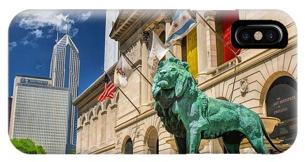 Art Institute In Chicago IPhone Case