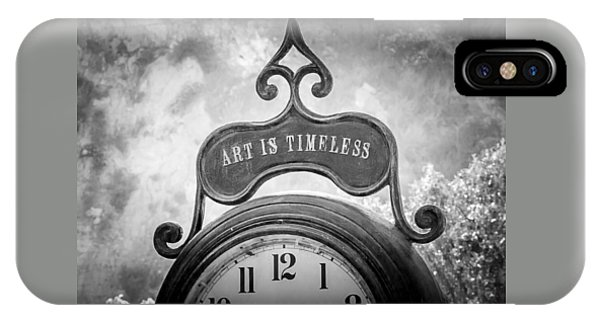 Art Is Timeless IPhone Case