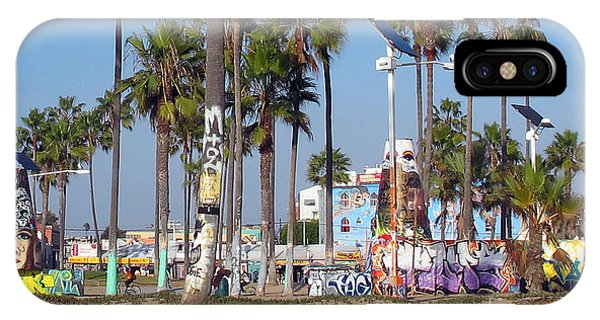 Art Of Venice Beach IPhone Case