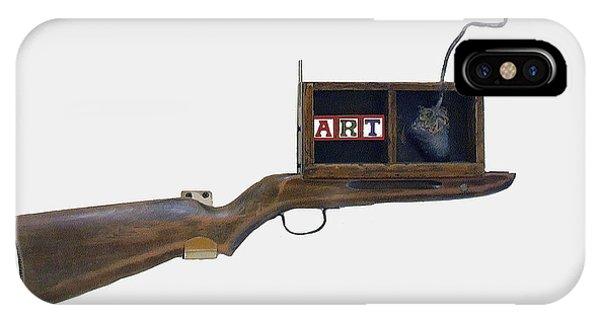 Art Rifle IPhone Case