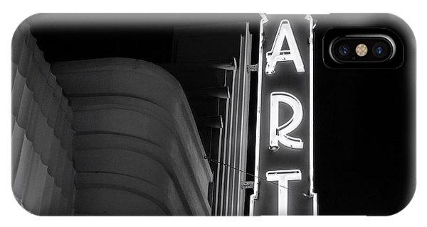Art Theatre Long Beach Denise Dube IPhone Case