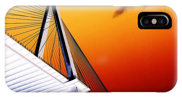 Arthur Ravenel Bridge 25 Phone Case by Ron Kandt